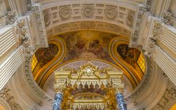Hotel des Invalides, Παρίσι, Γαλλία Στοκ φωτογραφία με δικαίωμα ελεύθερης χρήσης