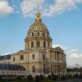 Hotel des Invalides royalty free stock photos