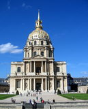 Hotel des invalides Royalty-vrije Stock Foto