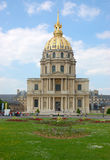 Hotel des invalides, paris Royalty Free Stock Photography