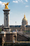 Hotel des Invalides - Paris Royalty Free Stock Photo