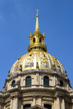 Hotel des Invalides - Paris Royalty Free Stock Photography