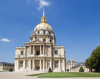 Hotel des Invalides - Paris Royalty Free Stock Photos