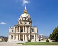 Hotel des Invalides - Paris Royalty Free Stock Photos