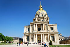 Hotel des Invalides, Paris Stock Photography