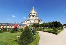 Hotel des Invalides - Paris - France Royalty Free Stock Images