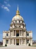 Hotel des Invalides - Paris - France Stock Photography