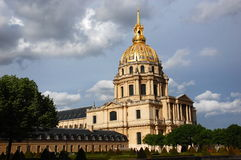 Hotel des Invalides, Paris, France Royalty Free Stock Photos