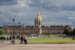 Hotel des Invalides Paris France Stock Image