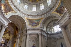 Hotel des Invalides, Paris, France Royalty Free Stock Photography