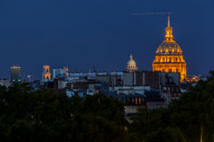 Hotel des Invalides Paris France Royalty Free Stock Photography