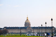 Hotel des invalides in Paris Stock Images