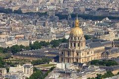 Hotel des Invalides Paris Royalty Free Stock Images
