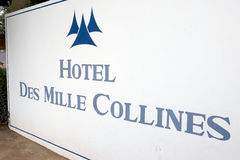 Hotel Des Mille Collines Stock Photo