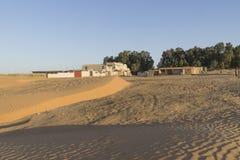 Hotel in Desert Stock Photos