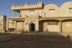 Hotel in Desert Stock Photo