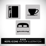Hotel design Royalty Free Stock Image