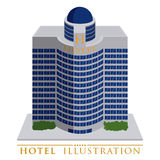 Hotel design Royalty Free Stock Image