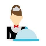 Hotel design. service icon. travel concept Stock Photos
