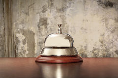 Hotel, desk, bell, counter, hospitality, travel, business, recep Stock Images