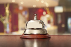 Hotel, desk, bell, counter, hospitality, travel, business, recep Royalty Free Stock Photo