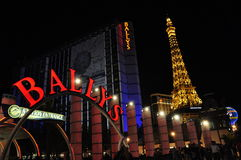 Hotel di Ballys e casinò - Las Vegas, S.U.A. Immagini Stock