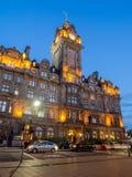 Hotel di Balmoral, Edimburgo Fotografia Stock Libera da Diritti