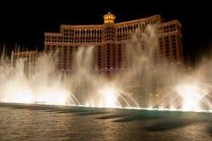 Hotel di Bellagio, Las Vegas Fotografia Stock Libera da Diritti