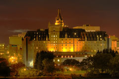 Hotel di Bessborough di delta, Saskatoon Immagine Stock
