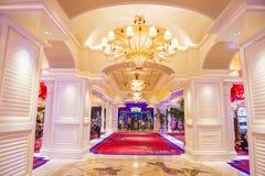 Hotel di bis di Las Vegas Fotografia Stock Libera da Diritti