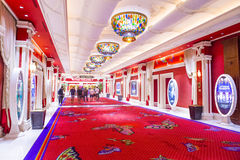 Hotel di bis di Las Vegas Immagine Stock Libera da Diritti