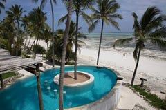Hotel di boutique di lusso Matlai in Michamwi, Zanzibar, Immagini Stock