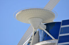 Hotel di Burj Al Arab nel Dubai Fotografie Stock