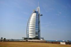 Hotel di Burj Al Arab nel Dubai Fotografia Stock Libera da Diritti