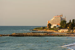 Hotel di centro di villeggiatura di Costinesti Immagine Stock Libera da Diritti