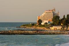 Hotel di centro di villeggiatura di Costinesti Immagini Stock Libere da Diritti