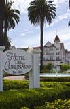 Hotel di Coronado Immagini Stock Libere da Diritti