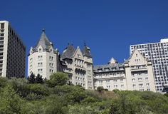 Hotel di Edmonton Immagini Stock