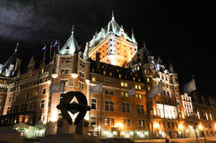 Hotel di Fairmont, Quebec, Canada Immagini Stock