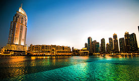 Hotel di indirizzo in Doubai Immagini Stock Libere da Diritti