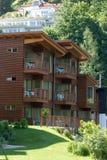 Hotel di legno Fotografia Stock Libera da Diritti