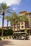 Hotel di località di soggiorno moderno Immagini Stock Libere da Diritti