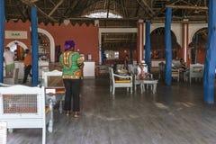 Hotel Di Località Di Soggiorno Sull\'isola Di Zanzibar Immagine Stock ...