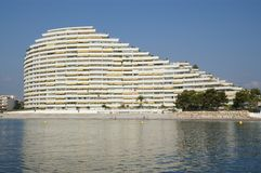 Hotel di Luxiry alla memoria D'Azur fotografia stock