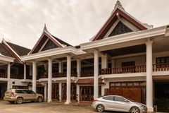 Hotel di Manoluck in Luang Prabang, Laos Fotografia Stock