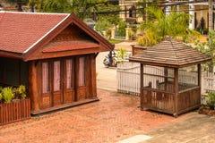 Hotel di Manoluck in Luang Prabang, Laos Fotografie Stock Libere da Diritti