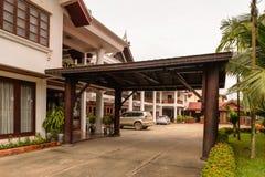 Hotel di Manoluck in Luang Prabang, Laos Immagini Stock