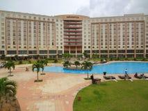 Hotel di Movenpick nel Ghana fotografia stock libera da diritti