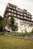 Hotel di Murren Immagini Stock Libere da Diritti