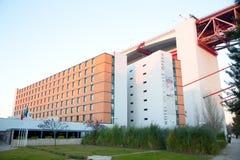 Hotel di opera di vento fortissimo di Vila Immagini Stock